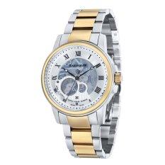 Thomas Earnshaw BEAGLE ES-0029-22 Men's Two Tones Ionic Plating Solid Bracelet Watch