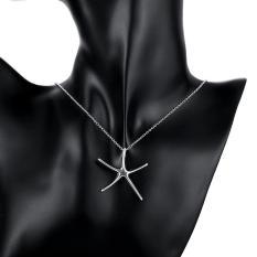 Tiaria P027 Nickel Lead Free Pendant For Gift Aksesoris Liontin Lapis Emas 18K (Silver)