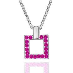 Tiaria Tiaria N518 Necklace Pendantsnew Fashion Jewelryfor Women Aksesoris Kalung Lapis Emas 18K - Silver (Silver)