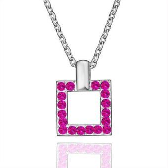 Tiaria Tiaria N518 Necklace Pendantsnew Fashion Jewelryfor Women Aksesoris Kalung Lapis Emas 18K - Silver (Silver) (Silver)