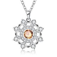 Tiaria Tiaria N731 Fashion Popular Chain Necklace Jewelry Aksesoris Kalung Lapis Emas 18K - Silver (Silver)