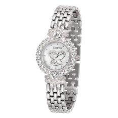 TIME100 Luxury Diamonds Steel Strap Quartz Ladies Watch W50368L.01A