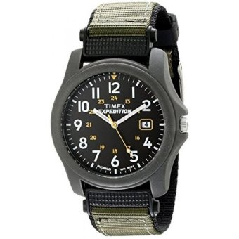 Timex Mens T42571 Expedition Camper Green Nylon Strap Watch - intl