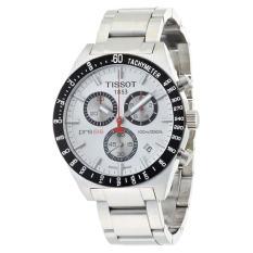 Tissot Men's T0444172103100 T-Sport PRS516 Quartz Silver Chronograph Dial Watch - Intl