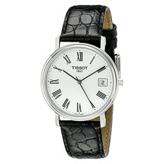 Tissot Men's T52142113 T-Classic Desire Stainless Steel Watch With Black Leather Band (Intl)