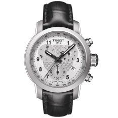 Tissot Original PRC 200 Quartz Chronograph T055.217.16.032.02 Women's Watch - Black Silver
