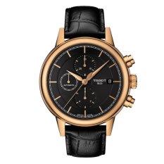 Tissot T-Classic Carson Automatic Chronograph Gent T085.427.36.061.00 - Jam Tangan Pria - Hitam