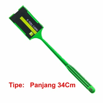 TONG TOLL Panjang 34Cm - Tongkat Kartu E Toll - Tongkat E Money - GTO STICK - Hijau