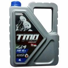 Toyota Motor Oil TMO 10W-40 API SN - Oli Mobil Mesin Bensin 1 Galon [4 Liter]