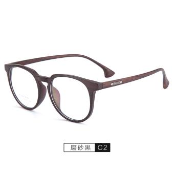 TR90 pria dan wanita ultralight bingkai putaran retro kaca mata rak kacamata  minus bea42ec5fa