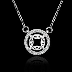 UJS Hot Brand New Fashion Popular Chain Necklace Jewelry (Silver) (Intl)