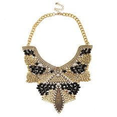 UJS Luxury Crystal Diamond Jewelry Fashion Woman With Jewelry Clavicle Chain