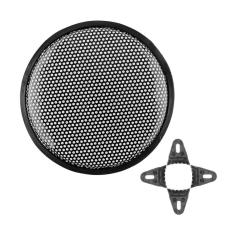 UJS New 10 Universal Metal Car Vehicle Audio Speaker Woofer SubWoofer Grill Cover Car Speaker Protective Cover (Intl)