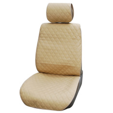 UJS PVC Fabric Car Seat Cushions Universal Fit Most Car Seat Cover Tan Car Styling Interior Accessories Seat Covers (Intl)