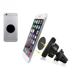 UJS Universal Car Holder Magnetic Air Vent Mount Dock Mobile Phone Holder For IPhone 6s For Samsung (Intl)