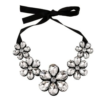 UJS Upscale Korean Wild Gem False Collar False Collar Necklace
