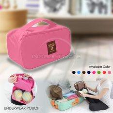 Ultimate Organizer Underwear Pouch IM OR 32-01/Underwear Travel Pouch - Baby Pink