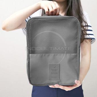 Ultimate Tas Serbaguna Sepatu/ GYM /Toiletries/ Travel Shoes Motif Korean Style TS-