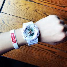 Ulzzang Korea Fashion Style pria cerdas Shishang elektronik tabel Watch