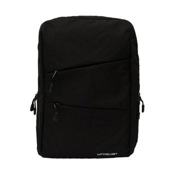 uNiQue Backpack Laptop Korean Tas Star Royal Hitam