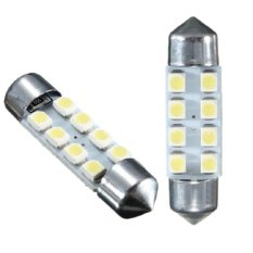 Universal - 1 pair / (2 pcs) 1 Pair (2 Pcs) Lampu LED Mobil Kabin / Plafon / Festoon 8 SMD 1210/3528 31mm White