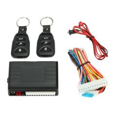 Universal remote mengendalikan mobil di tengah Kotak Kit kunci pintu tanpa kunci masuk sistem dengan tombol pelepas bagasi