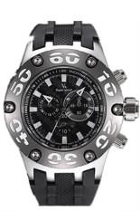 V6 2450 Men Silicone Strap Casual Quartz Watch (Black) (Intl)