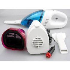 Vacum Cleaner mobil Portable Biru-Putih