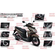 (Vario 125 eSP / 150 eSP) Honda ORI Paket Aksesoris KOMPLIT - CHROME