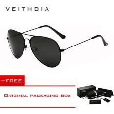 VEITHDIA Brand Classic Fashion Polarized Sunglasses Men/Women Colorful Reflective Coating Lens Eyewear Accessories Sun