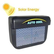 Ventalasi Udara Mobil Tenaga Solar - Black