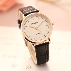Versi Korea dari pria dan wanita tahan air sabuk kulit Shi Ying menonton siswa versi Korea dari jam tangan