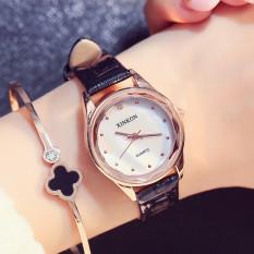 Versi Korea dari siswa sabuk tahan air jam tangan bentuk perempuan