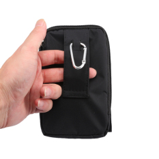 Vertical Style Multifunction Outdoor Waist Bag Phone Bag Package 5.7 Inches (Black) (Intl) - Intl