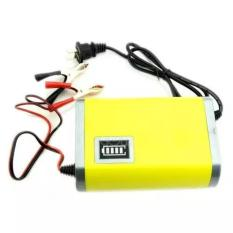 Viper Portable Motorcrycle Car Battery Charger 6A/12V - Yellow Kuning - Alat Casan Cas Charger Charging Baterai Batere Batre Batrei Aki Akumulator Motor Mobil 6 A Ampere 12 V Volt Portabel Mini Kecil