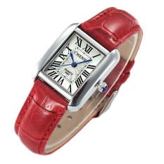 Watch Women Elegant Retro Watches Women Luxury Fashion Watch Quartz Clock Female Leather Women's Wrist Watches Relogio Feminino - Intl