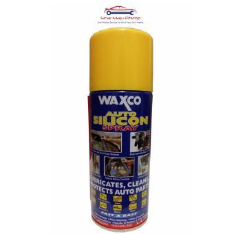 Waxco Auto Silicon Spray 300 ml - Cairan Perawatan Karet Rubber& Nylon Mobil