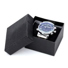WEIDE WH1101 Stainless Steel Digital + Analog Quartz LED Wrist Watch for Men (1 x