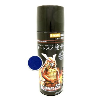 Whiz Samurai Automotive Motorcycle Car Paint - Cat Semprot MotorMobil Spray Aerosol Paint - Tivoli Blue 9