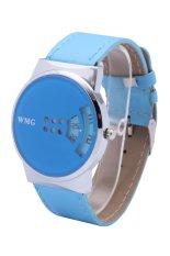 Womage New Rhinestone Brand Luxury Creative Crystal Watch Ladies Fashion Dress Quartz Wristwatches (Purple) (Intl)