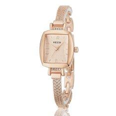 Womdee KEZZI 2016 NEW Luxury Brand Women Quartz Watch Stainless Steel Bracelet Lady Wristwatch Women's Favorite Style Relogio Feminino (Intl)