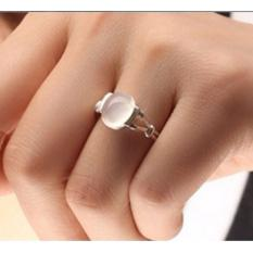 Women's Moonstone Ring Party Ring Jewelry Favor Accessories - intl