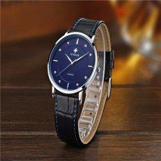 WWOOR Brand Casual Men Quartz Watch Men'S Sports Watches LuxurySuper Slim Leather Strap Men Watch Relogio Masculino