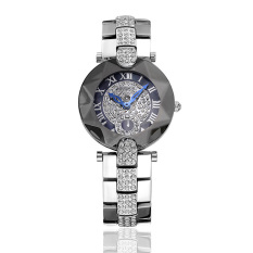 Xfsmy Sousou 2016 Nian New Shelves Explosion Models Ladies Watches Women Watch With Diamond Factory Direct Foreign Trade (Silver)