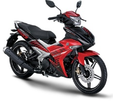 Yamaha MX King 150 - Merah
