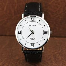 YAZOLE Brand Watch Men Women Watches Quartz Wristwatches Female Male Quartz-watch YZL279-Black - Intl