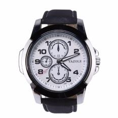 YAZOLE Jam Tangan Pria Sport Clock Quartz 350 -