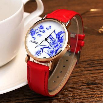 YAZOLE Top Luxury Brand Watches Fashion Women Quartz Watch Female Wristwatches Quartz-watch YZL349-
