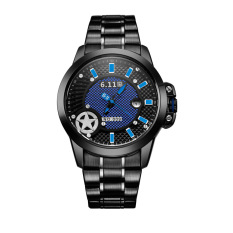 YJJZB 6.11 Genuine Watches Are Light Energy In The Form Of Quartz Movement Leisure Tide's GD009 Stainless Steel Waterproof