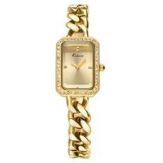 YJJZB KIMIO Fashion Casual Fashion Trends Hot New Watch Quartz Watch Female Fashion Female Form 6029S (Gold)